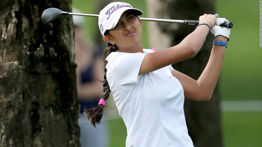 The women growing golf in India