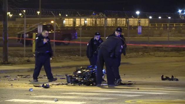 Police: 2 killed when motorcycle crashes into truck in Archer Heights
