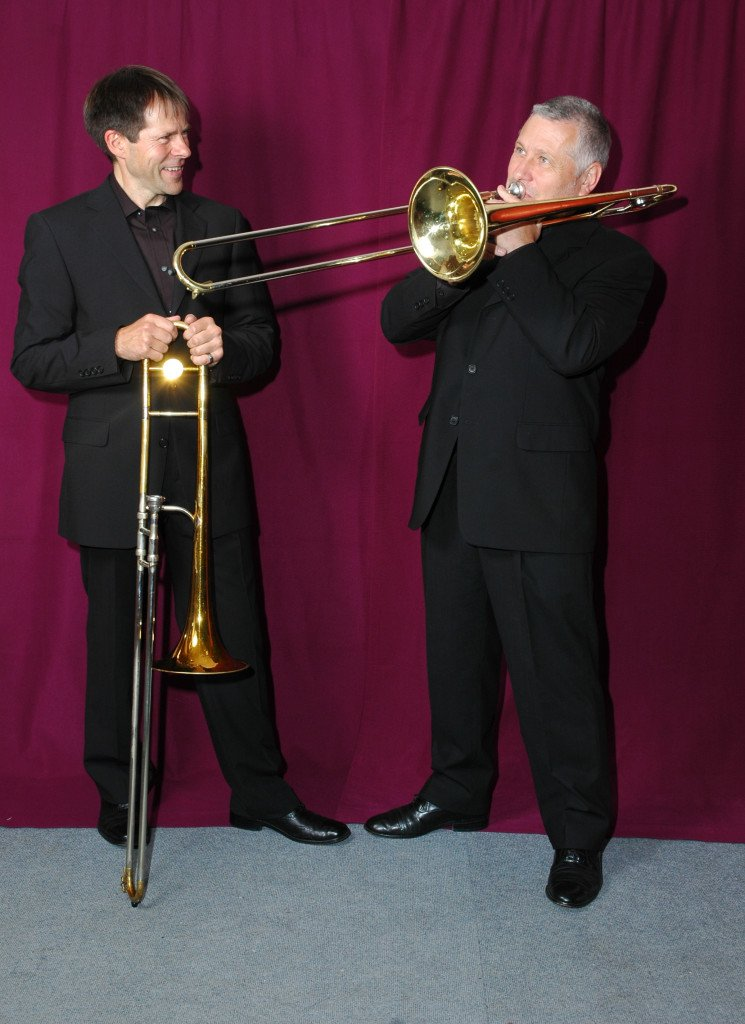 test Twitter Media - KEVIN GRENFEL AND RICHARD LEACH'S 'SLIDE BY SLIDE' THURSDAY 29TH MARCH 2018  Great Innovative jazz presented with verve and humour by trombonists Kevin and Richard and their excellent band. Don't miss out, get your tickets by calling 01234 320 022. #JazzAtTheBedford https://t.co/8bhraTLliq