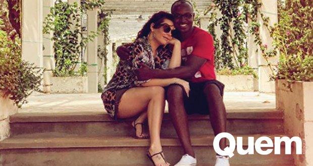 Fernanda Souza. Foto do site da Quem Acontece que mostra Fernanda Souza se declara a Thiaguinho em post romântico