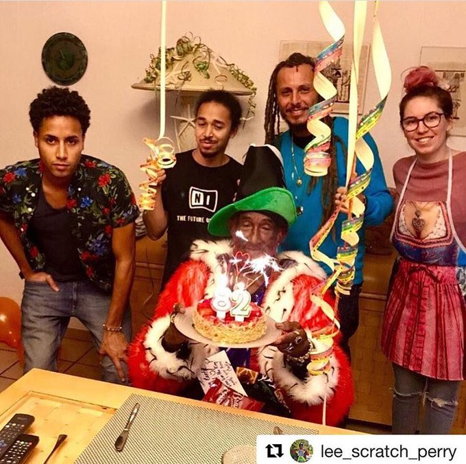 Happy 82th Birthday Lee \Scratch\ Perry