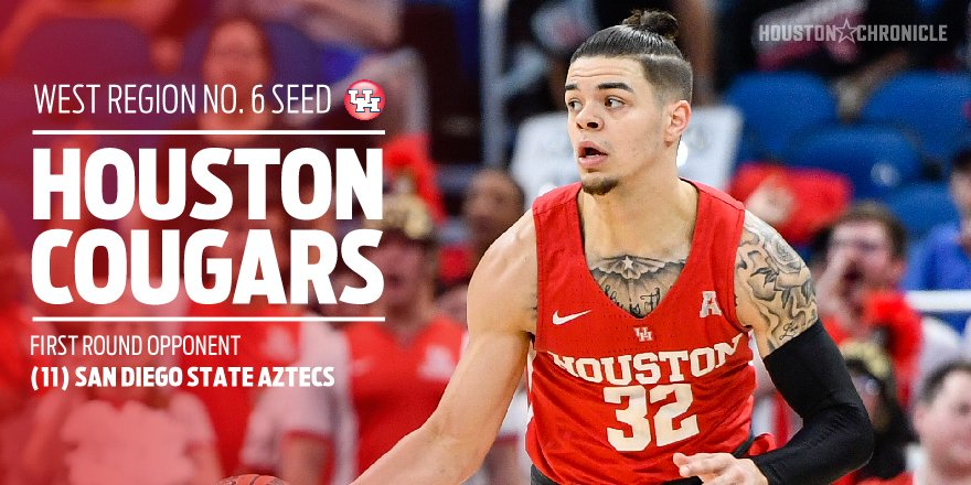 UH to face San Diego State in NCAA Tournament