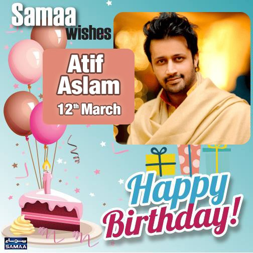 Happy Birthday Atif Aslam!