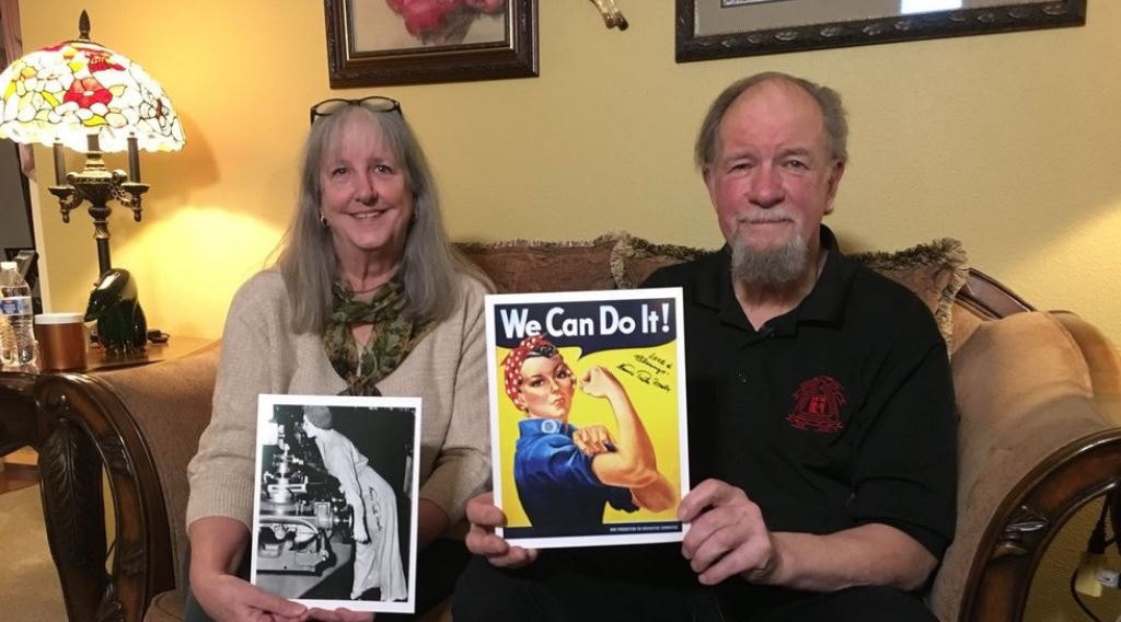 Memorial held for woman who inspired 'Rosie the Riveter' image