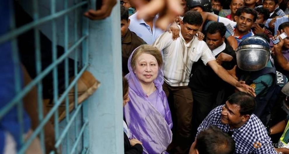 Bangladesh ex-PM Khaleda Zia gets bail; party to consider poll boycott
