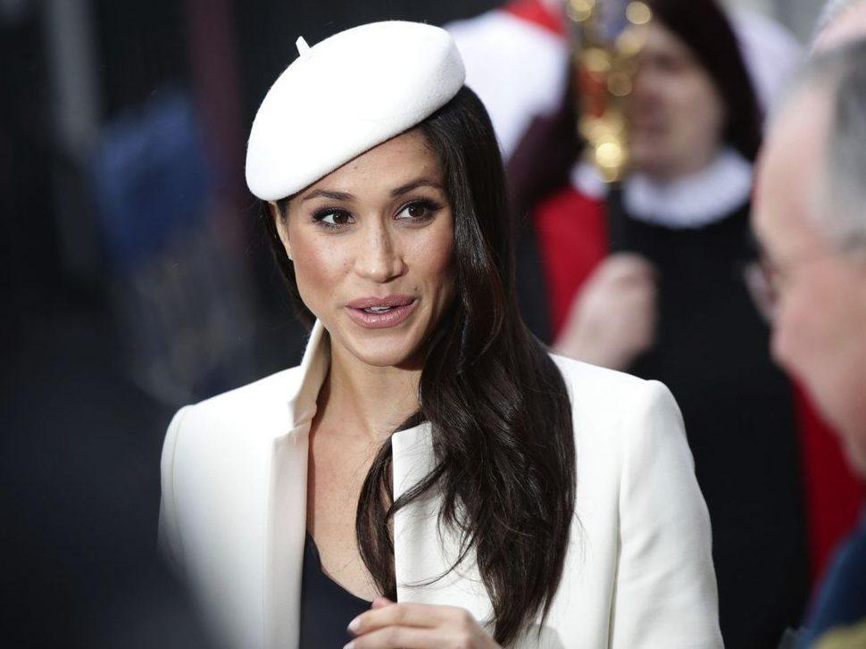 Meghan Markle makes first appearance with Queen Elizabeth