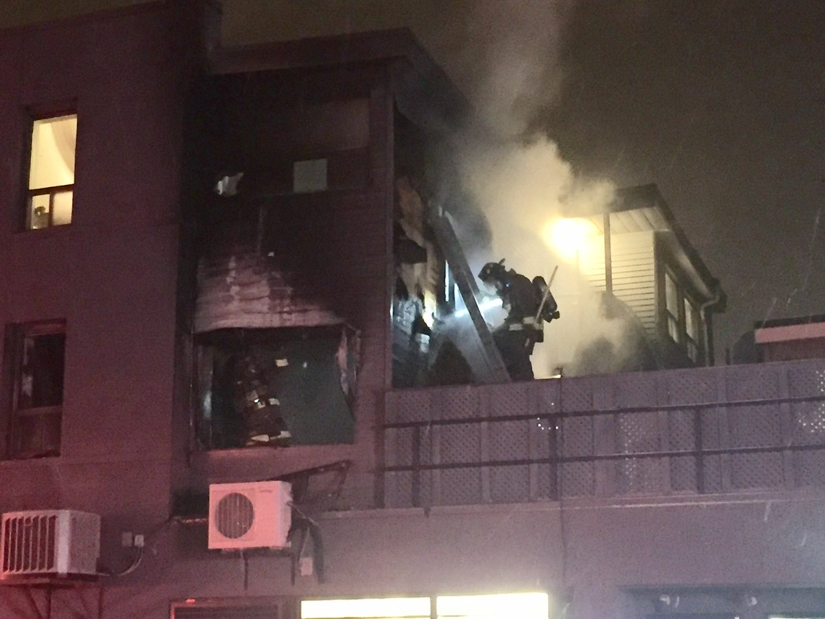 Multiple residents displaced after fire at Midtown apartment building