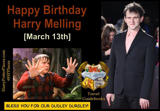 Happy Birthday to Harry Melling!