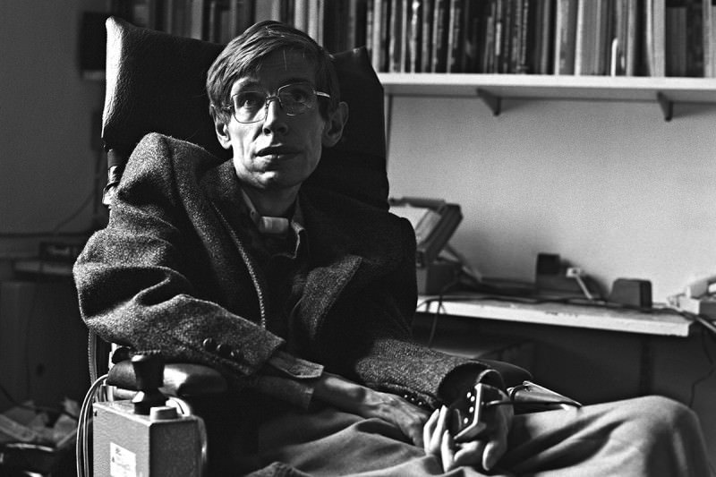 Tribute to the great, iconic Stephen Hawking, who has died age 76 https://t.co/8giXc4O2vP https://t.co/SYZnufvOxR
