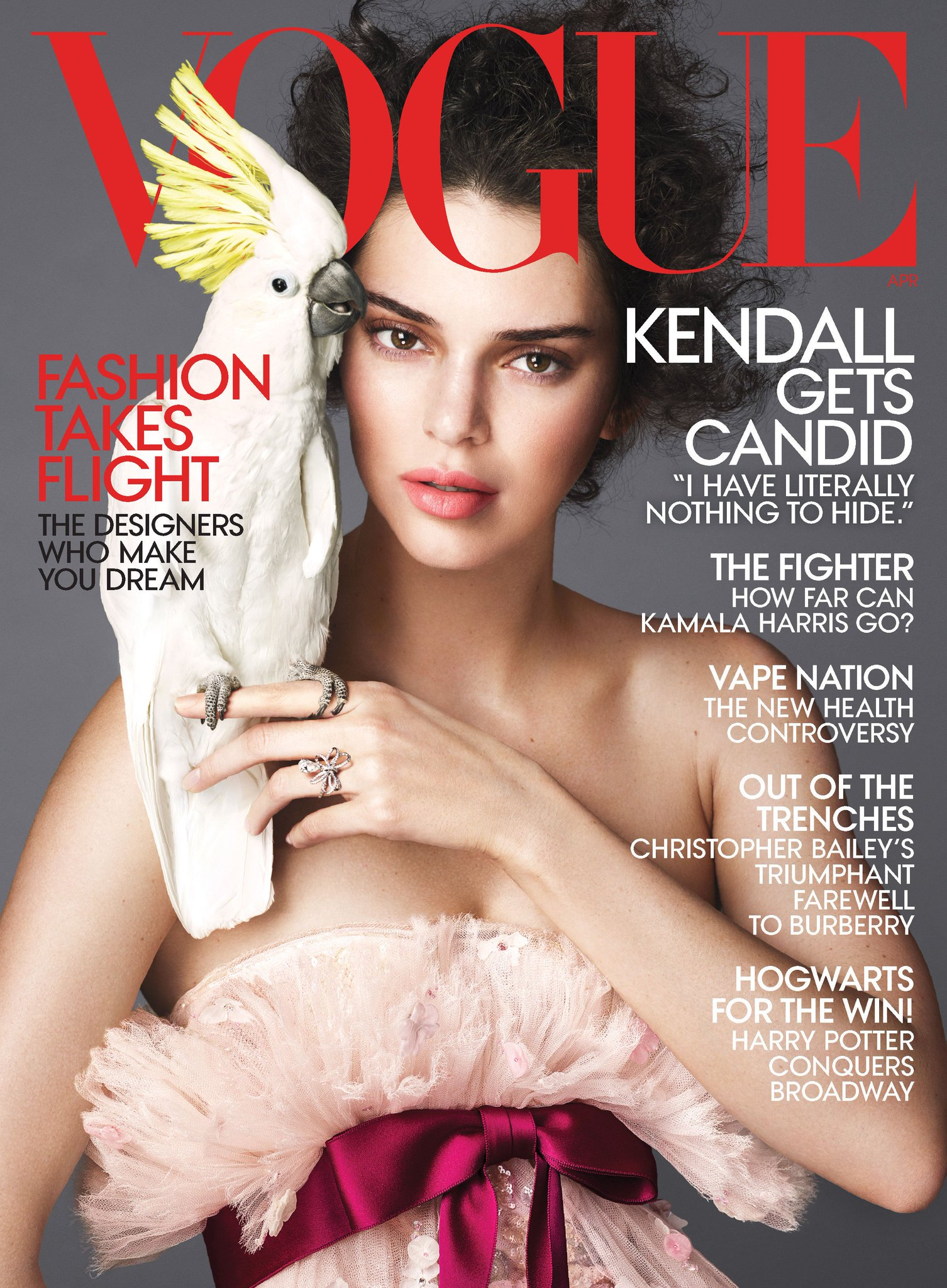 .@KendallJenner stars on the cover of our April issue! Read the full interview: https://t.co/Kdy436tg8z https://t.co/vcPm0aLY7f