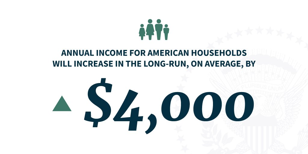 President Trump's tax cuts are already boosting paychecks of workers across the country. https://t.co/tuUEiE0KIF