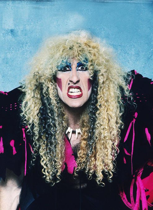 Há 63 anos nascia Dee Snider, eterno frontmen do Twisted Sister.  Happy Birthday Dee!!