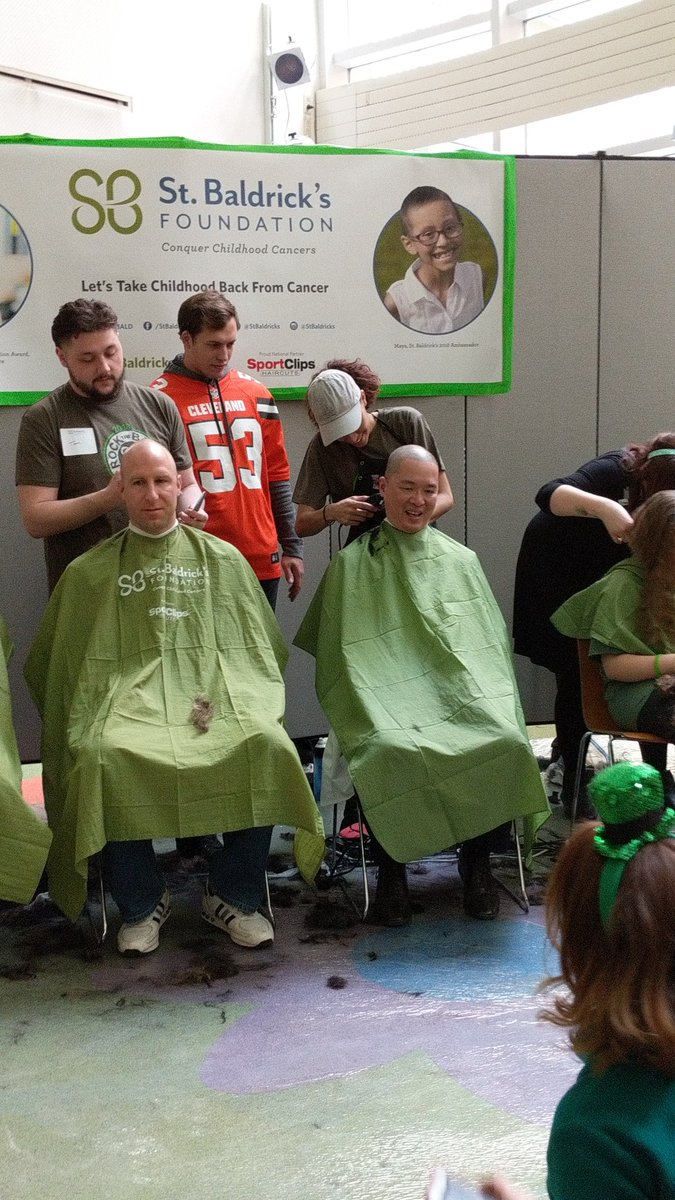 test Twitter Media - Another great #ShaveItOff event - thanks to @StBaldricks for your continuous support of #childhoodcancerresearch! @UHRainbowBabies @CWRUSOM https://t.co/wgzzscCPFx