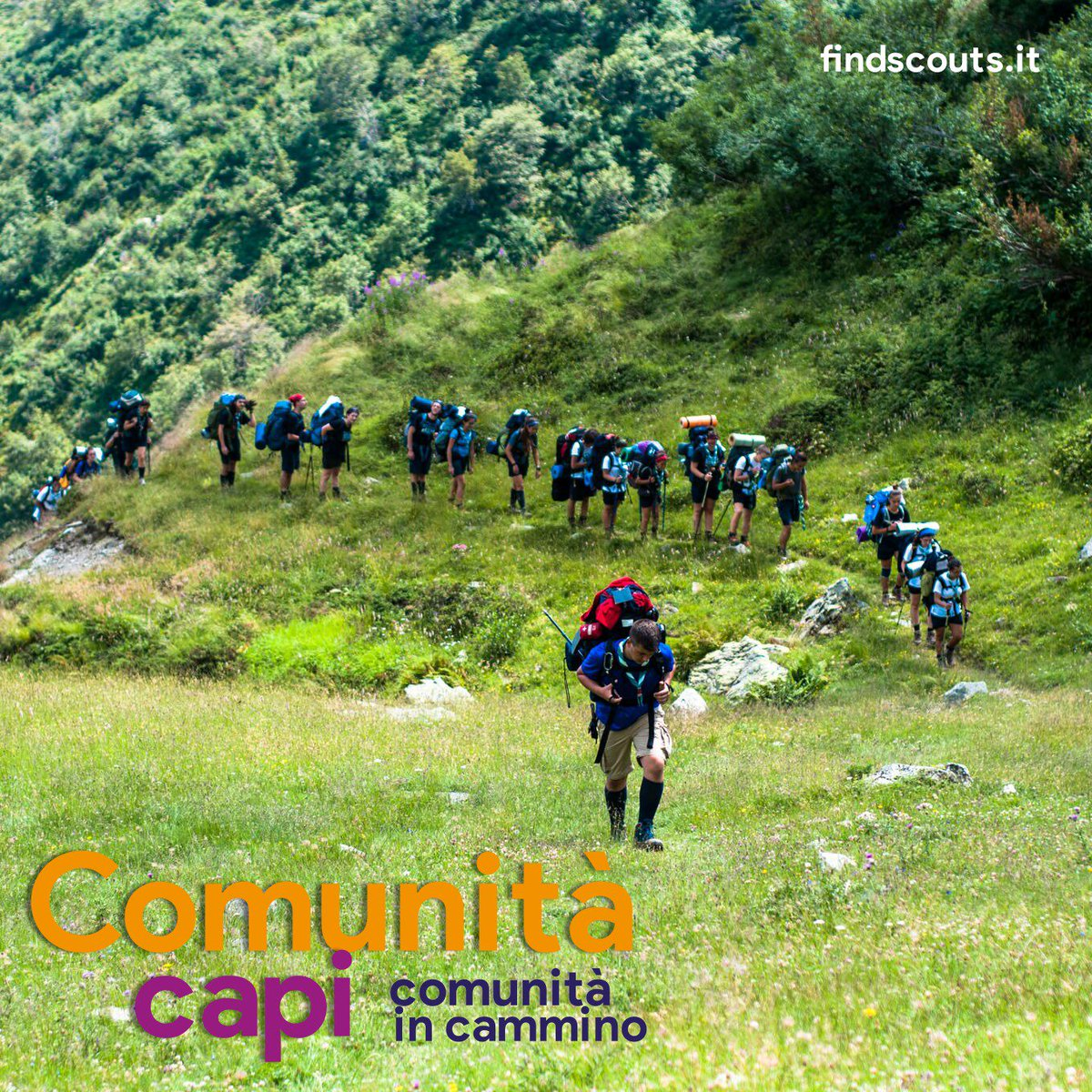 #comunitaincammino