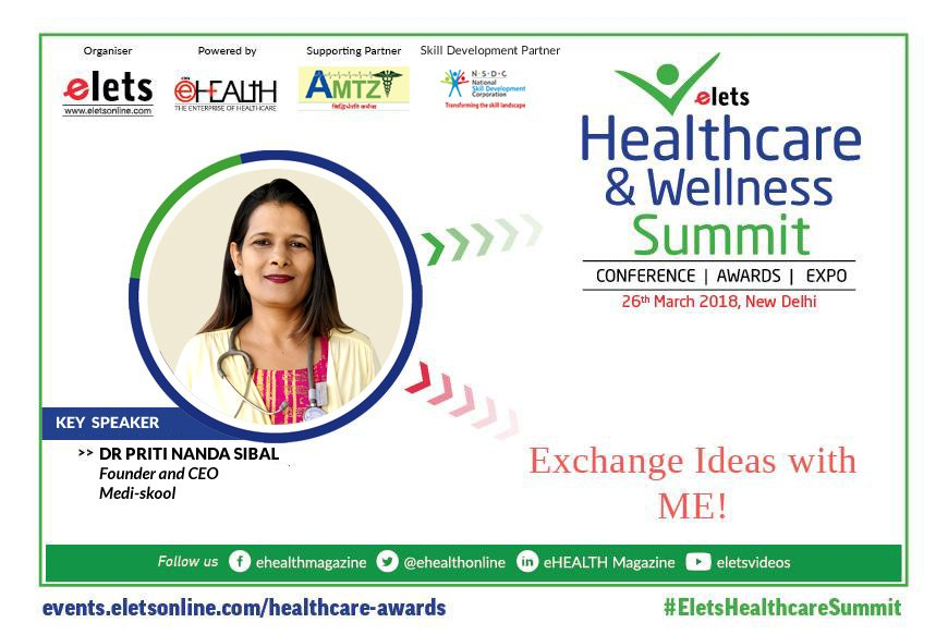 test Twitter Media - #Elets #Healthcare & #Wellness #Summit, 2018 welcomes Dr Priti Nanda Sibal, Founder and CEO, Medi-skool. For details, visit: https://t.co/jYBX7iE78O @ravigupta1000 @SAVDAGREAT https://t.co/nOufSPUMWk