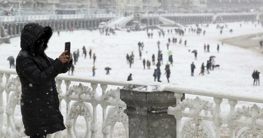 La ola de frío siberiano dará pasó a las lluvias en el Domingo de Ramos https://t.co/9zdMZkaMsQ https://t.co/34ZMZ3t8SO