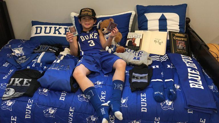 Duke fan says he's a die-hard Cameron Crazie. https://t.co/EFvgCKieFH https://t.co/6pnr3c5PVb