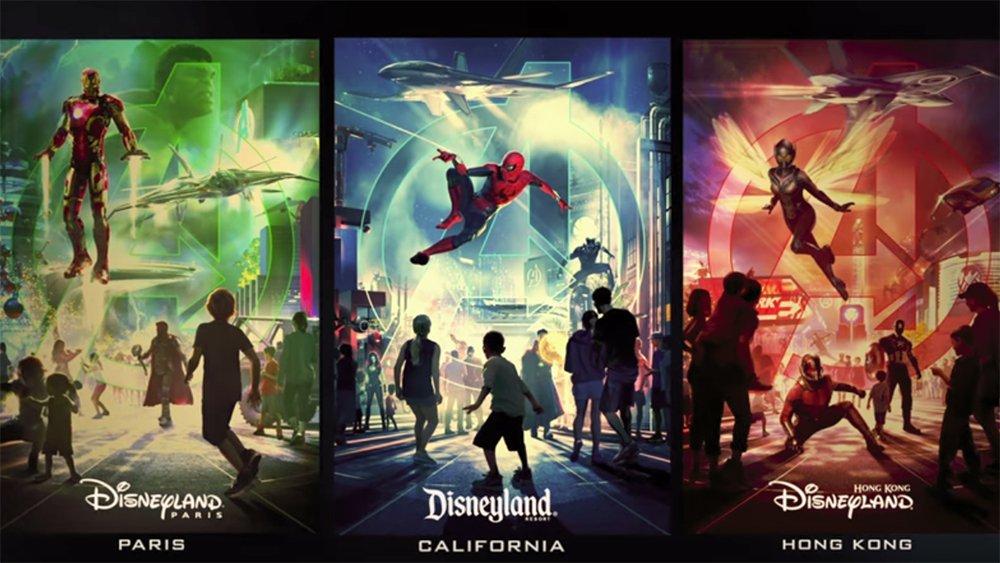 Marvel-themed lands coming to three Disney parks https://t.co/TZ39s0jDPp https://t.co/PMf9OHhjbq