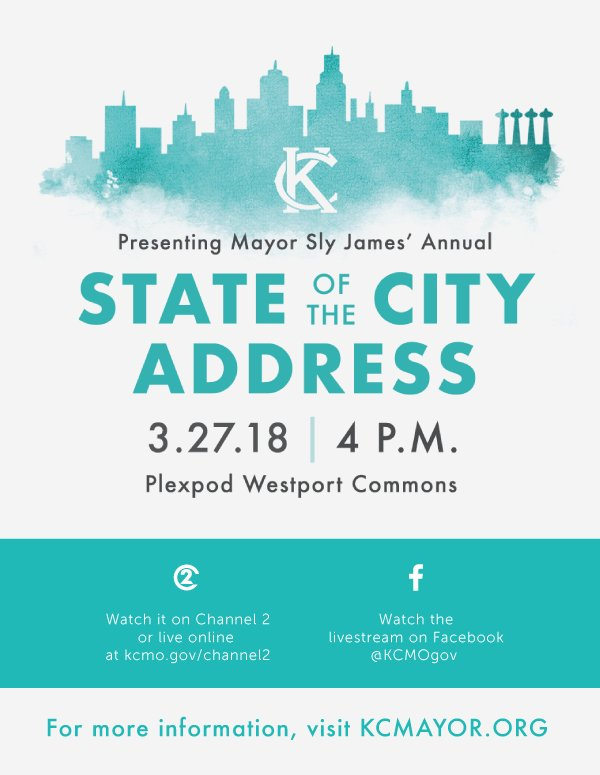 test Twitter Media - .@MayorSlyJames State of the City Address is a week away on Tuesday, March 27. This is an opportunity to hear about the progress we are making as a city and explore what is on the horizon. Register at https://t.co/TXvpvQ4WLU #SOTCKC https://t.co/cQy9b9qYGn