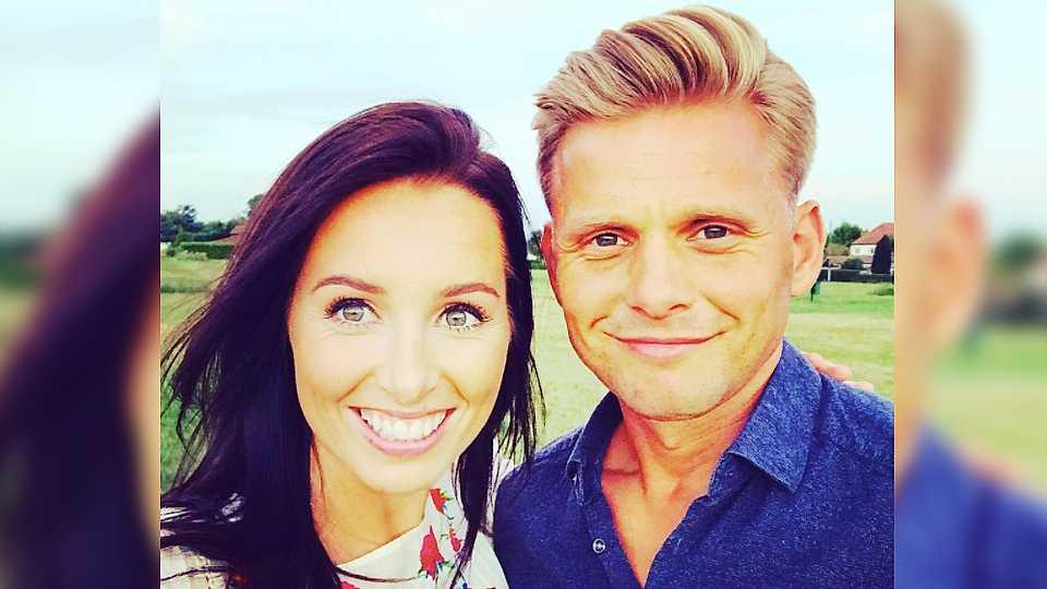 Kate Dwyer shares NAKED snap of fiancé Jeff Brazier