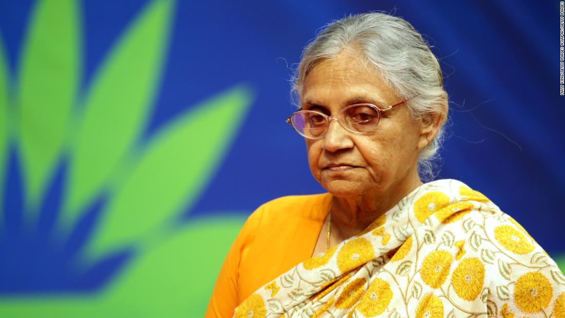 Veteran Indian politician Sheila Dikshit has died at 81