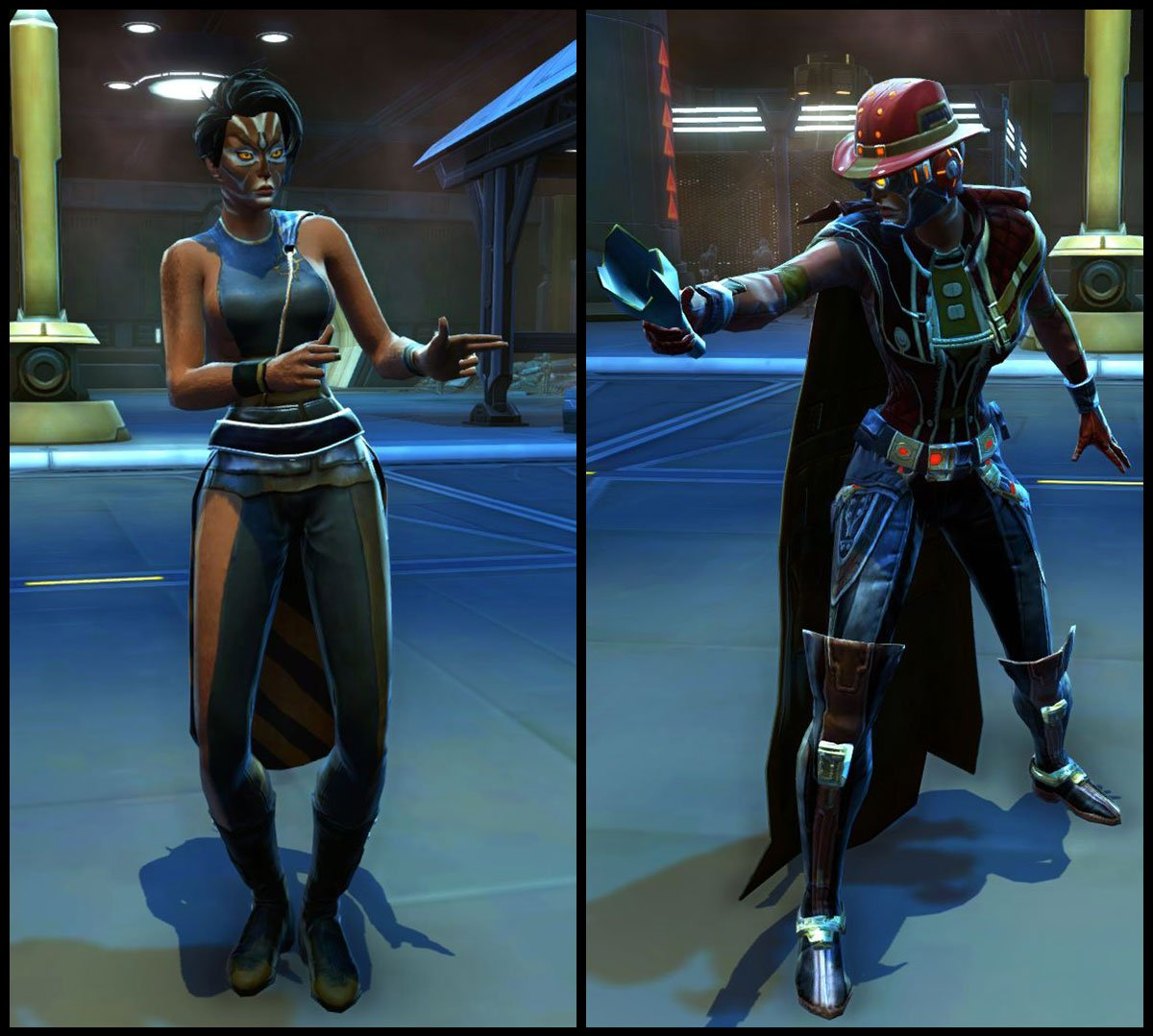 test Twitter Media - Which outfit do you wear when walking down the streets of Nar Shaddaa, the Nightlife Socialite or Kingpin Armor set? https://t.co/ye20rCdZq4