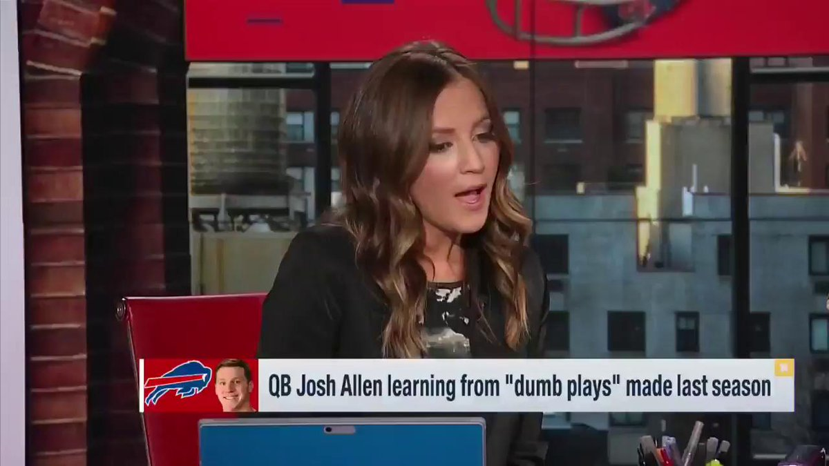RT @BradleyGelber: .@heykayadams isn't sleeping on Josh Allen 👀 #Bills https://t.co/QSZtNjuYy1