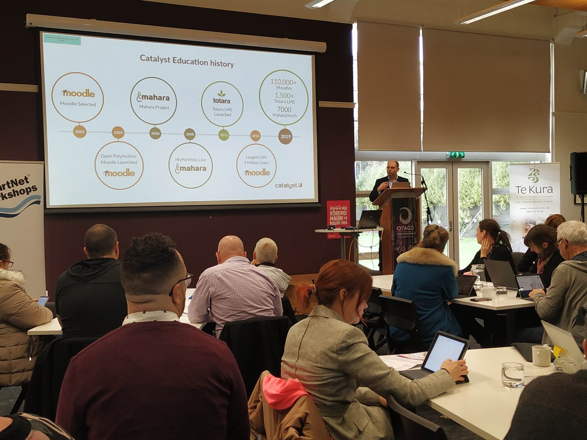 "test Twitter Media - ""Open source software is a really good fit for #education. #Collaboration with other educators will produce the best results.""   Paul Stevens on #OpenSource IT #innovation  #ELF19NZ  @CatalystNZ https://t.co/9PkqozJ6im"