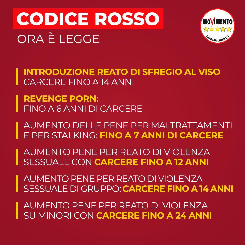#CodiceRosso