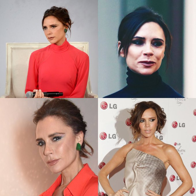Happy 44 birthday to Victoria Beckham . Hope that she has a wonderful birthday.