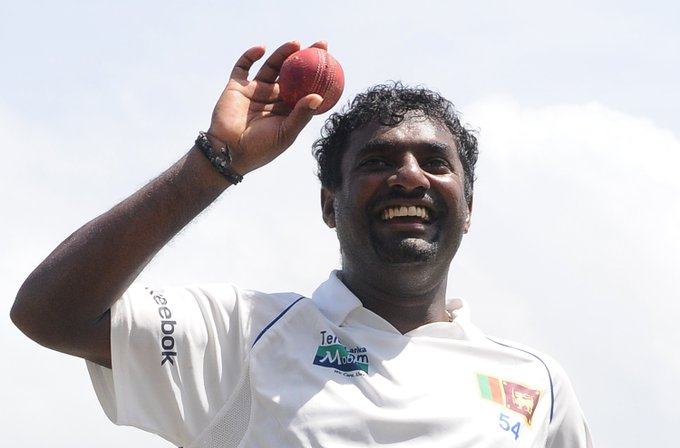 Happy birthday to Muttiah Muralitharan, the only bowler with 800 Test wickets!