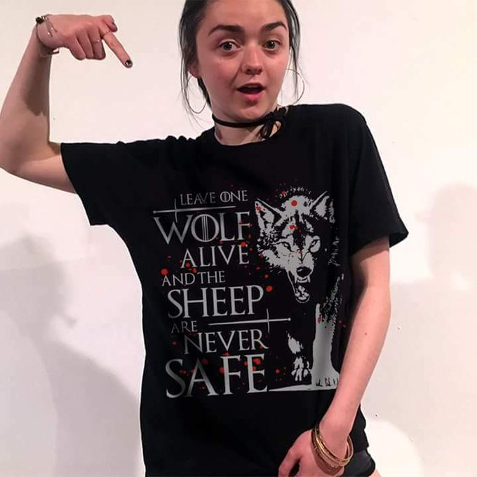 Happy birthday ARYA STARK