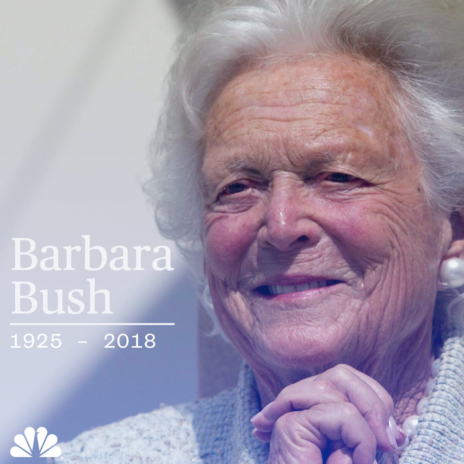 BREAKING: Former First Lady Barbara Bush has passed away at 92, according to a Bush family spokesperson. https://t.co/UveetFuz72
