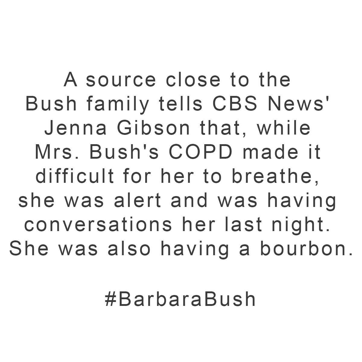 test Twitter Media - Cheers #BarbaraBush https://t.co/zujkKcMSEl