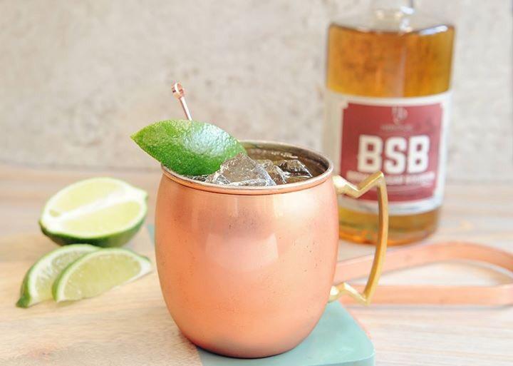 test Twitter Media - #LasVegas anyone? @MonAmiGabiLV @ParisVegas is featuring this delicious cocktail using our very own BSB - Brown Sugar Bourbon! #BrownSugarMule #HDCBSB #HeritageDistilling https://t.co/iB4z78fiER
