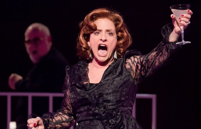 Happy Birthday to this Broadway Queen ! Let\s all raise a glass to Ms. Patti Lupone.
