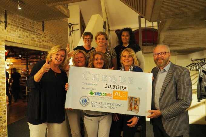 Overtreffende opbrengst aspergediner voor ALS en Kidz for Kidz https://t.co/erPN61yM1F https://t.co/G3Z23Shl0P