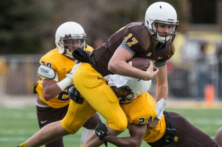 Josh Allen's QB career at Wyoming, from start to finish