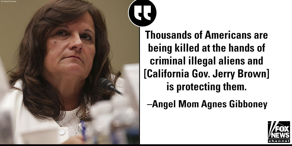 'Angel Mom' Slams CA Gov. on Sanctuary Law: 'I Would Expect My Government to Protect Us' https://t.co/bj6I2vAncW https://t.co/ZheY0bnEFH