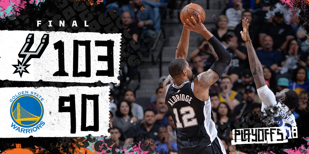 Spurs Win!!!! https://t.co/UMUQMF28gY