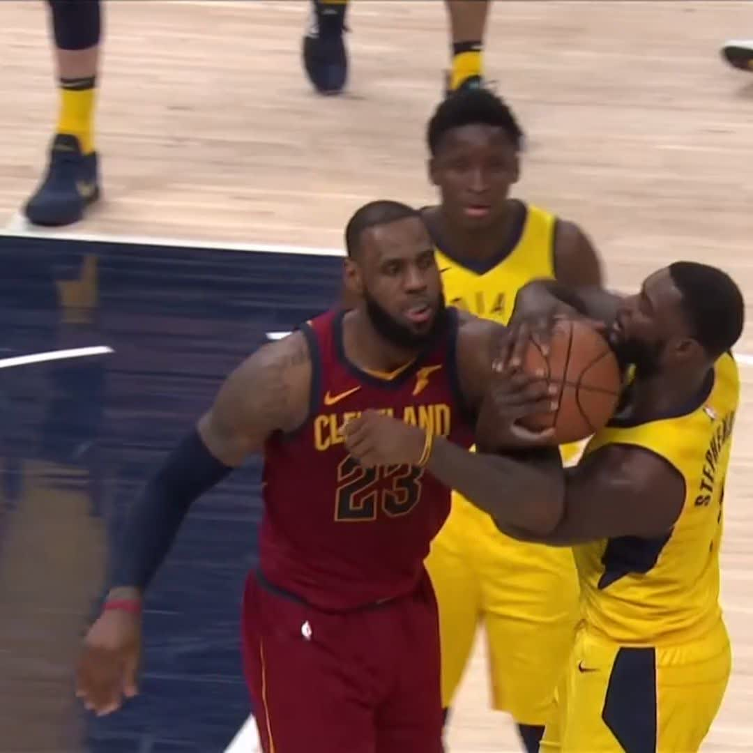 Never change, Lance ��.   #NBAPlayoffs | #Pacers https://t.co/D6hVTdMvpe