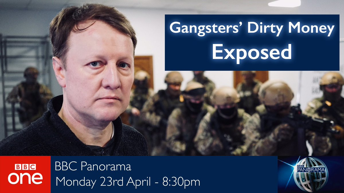 test Twitter Media - WATCH NOW: Why does London attract so much dirty money? #BBCPanorama tracks down a violent Ukrainian crime gang using offshore companies and professionals to hide suspicious wealth in the UK.   Watch @andyverity follow the gangsters' trail now on @BBCOne. https://t.co/CdyjqqUxXL