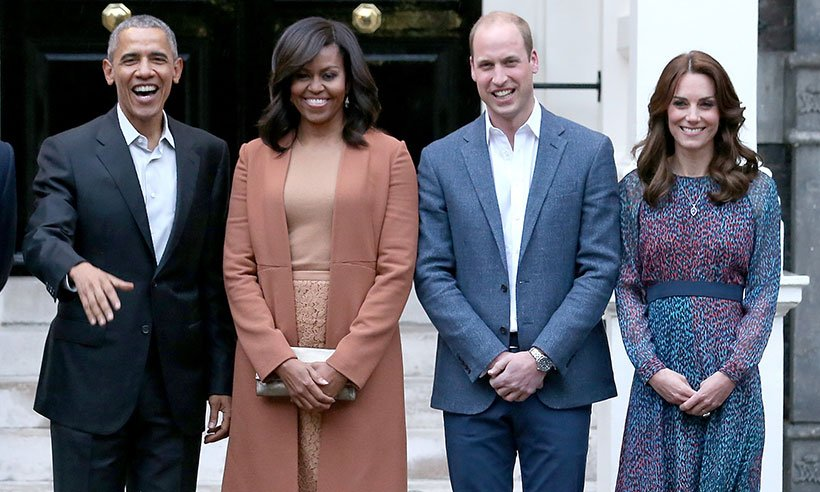 Michelle Obama wants a 'pyjama party' with new royal baby: