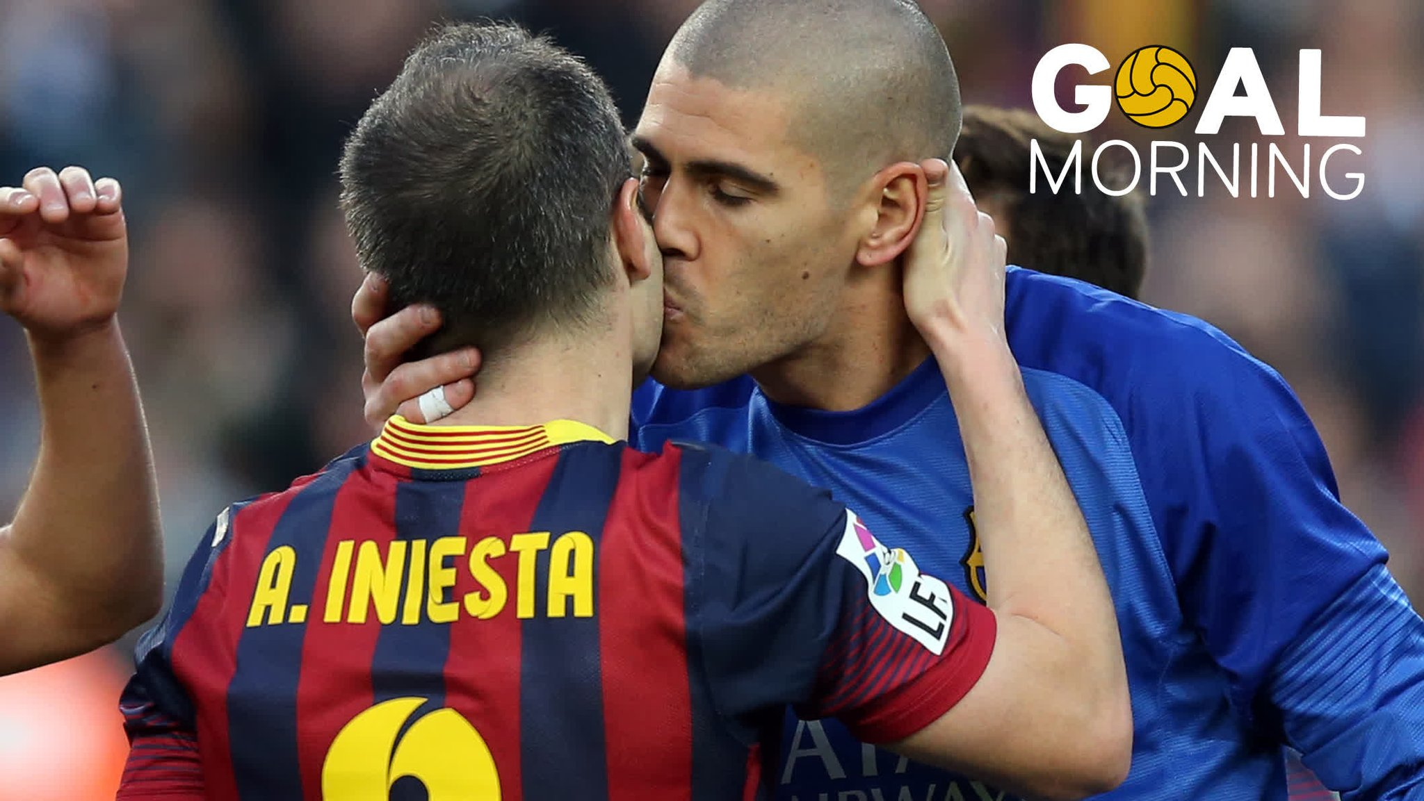 G⚽️AL MORNING!!! �� @andresiniesta8  �� �� Today is your day!!! https://t.co/07cslleo0Y