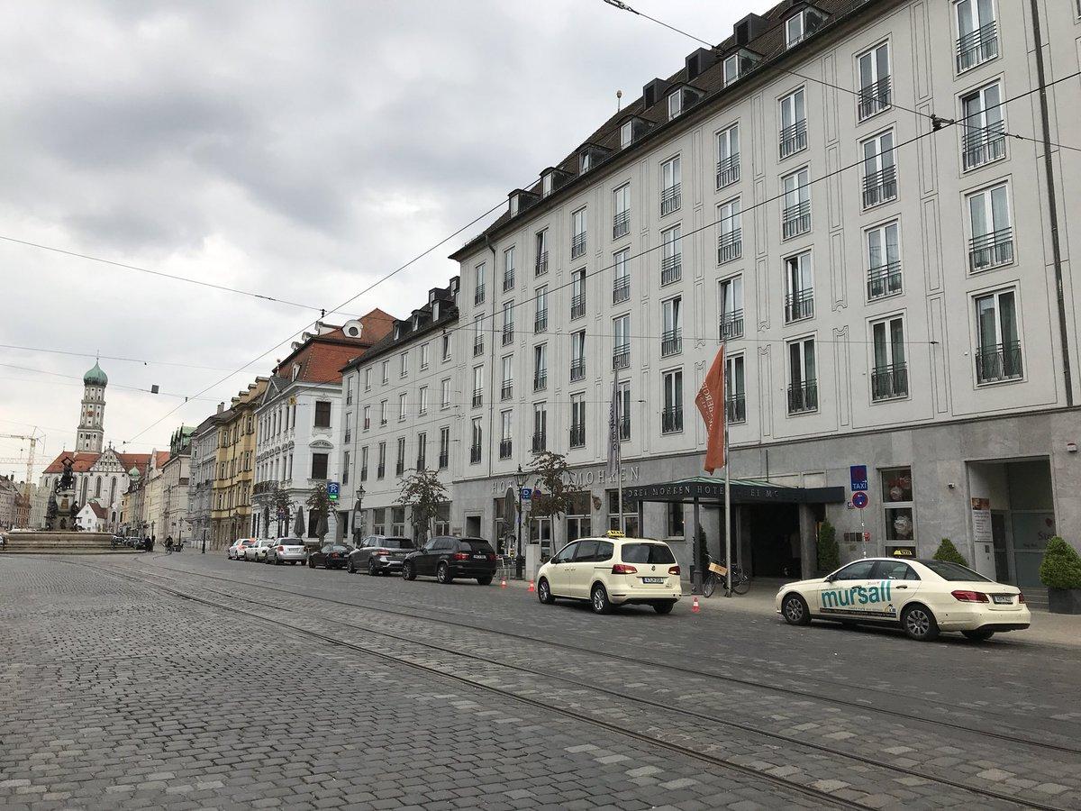 test Twitter Media - Los geht's beim 5. A3 Immobilienkongress Wirtschaftsraum Augsburg im Steigenberger Hotel Drei Mohren. Wir wünschen allen Besuchern, Referenten und Partnern einen erfolgreichen Kongresstag! #immoadrei https://t.co/qmK3lePgEy