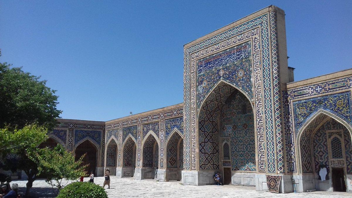 Découverte de la très belle Samarcande / In the wonderfull Samarkand