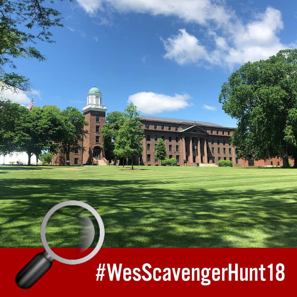 test Twitter Media - 🔍 Clue 1: Take a shoe selfie 👟 with a mosaic in the entrance of the building named after the first president of Wesleyan University. #WesScavengerHunt18 #NationalScavengerHuntDay   More clues: https://t.co/iwQIXnDb7K https://t.co/XGxc00RTtk