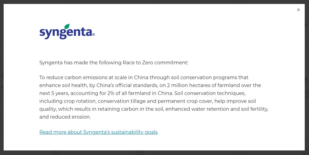 test Twitter Media - Today, we are highlighting @Syngenta's commitment to the #RacetoZero, a pledge to reduce carbon emissions in #China through soil conservation programs covering 2% of all farmland in China over the next 5 years: https://t.co/6uYseVAG0L https://t.co/UoCKrNZ3Ak