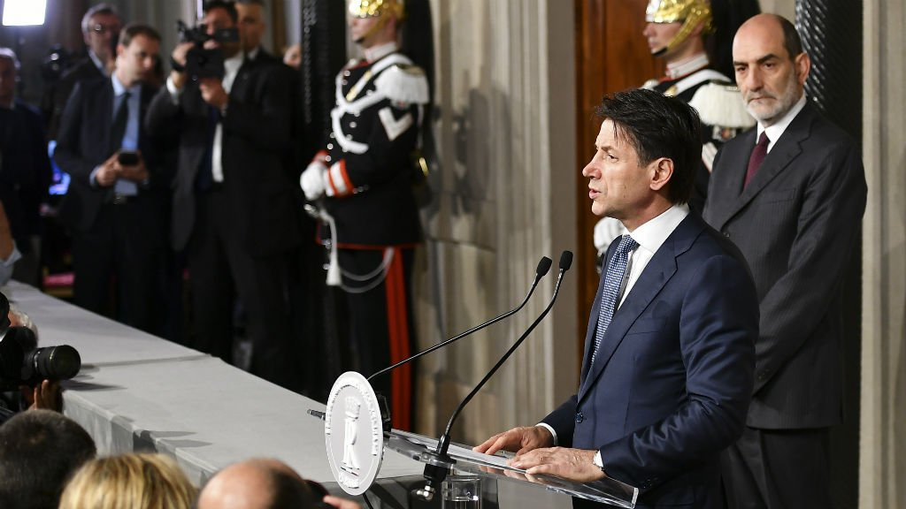 Italy's new leader Conte: 'Untested maestro of a cacophonous orchestra'