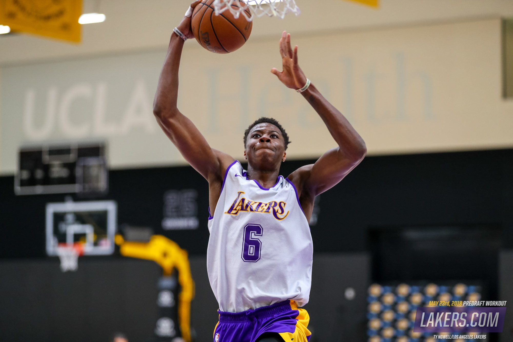 Take an inside look at Wednesday's #LakeShow draft workout: https://t.co/0D3Ae3z1km https://t.co/D5fUzkMd0E